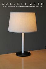 MID CENTURY MODERN LIGHTOLIER DESK LAMP! EAMES ATOMIC 50'S 60'S LIGHT BLACK VTG