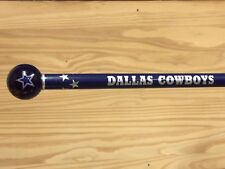Dallas Cowboys walking cane featuring a Officially Licensed NFL Ball Handle