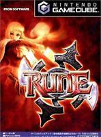 USED Nintendo Gamecube RUNE Rune