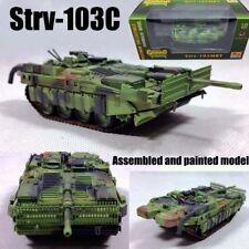 Sweden Strv-103C Stridsvagn unconventional tank 1:72 rare camouflage Easy Modeal