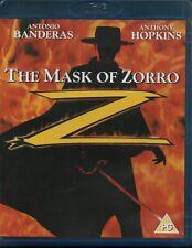 THE MASK OF ZORRO - Antonio Banderas, Anthony Hopkins - Blu-Ray