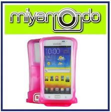 DiCAPac WP-C2 (Pink) Waterproof Case for Samsung Galaxy/Note II/S3