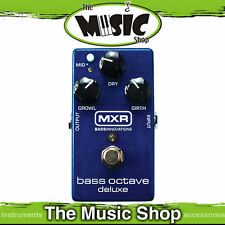 New MXR Bass Octave Deluxe Effetcs Pedal - M288