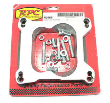 """RPC-R2066  3/4"""" Open Spacer Adapter 4150 Holley To Quadrajet Carb Studs Gasket"""