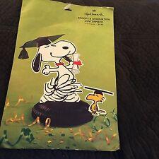Vintage Hallmark Snoopy Centerpiece Graduation Peanuts