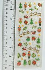 Paper Crafts Christmas MINI CHRISTMAS EPOXY Stickers - 50 Pc