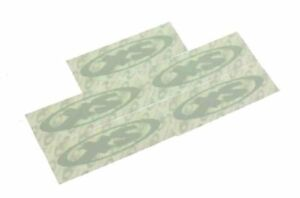 "Schwinn XS Frame Decal Set of 5 BMX Oval Stickers  4"" x 1.25"" NOS NEW Old Stock"