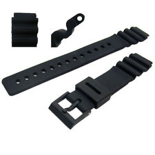 Resin Watch Band 18mm for Casio AW302, DW2500, LED100, DW400, PGW92