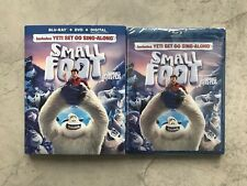 Small Foot (Blu-ray + DVD + Digital, Bilingual)