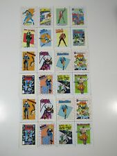 DC Comics Trading Cards- 1989 Uncut 3 Sheets