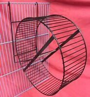 Metal Rat Exercise Wheel 10 Inch On Stand Silent Hamster Gerbil Chipmunks