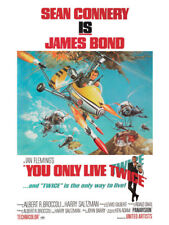 James Bond-You Only Live Twice-Little Nelly-Ready FRAMED CANVAS