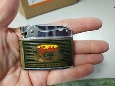 "New listing Vintage ""The Golden Cola"" Sun-Drop Flat Advertising Lighter"