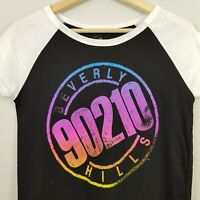 90210   Beverly Hills Womens Print Graphic Tee / Top [ Size XS or AU 8 / US 4 ]