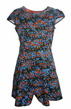 Johnnie B Mini Boden Floral Viscose Playsuit Age 10 New