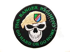 "US 75th Ranger Regiment ""Go Hard or Go Home"" Patch (Tan Beret)"