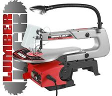 "16"" Wood Scroll Fret Saw Accepts Pinned & Pin Less Blades Variable Speed 240v"