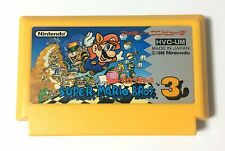 USED Nintendo FC Super Mario Bros. 3 JAPAN NES Game Soft Only Famicom brothers