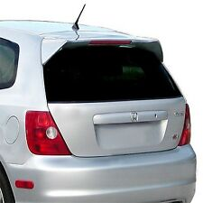 JSP 339079 Honda Civic Si Rear Spoiler Primed 2002-2005 Custom Style with LED
