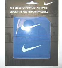 Nike Speed Performance Armband pair - Blue New NWT
