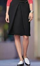 BNWT🎀 Next 🎀Size 6 Black Tailored A-Line Pleat Front Skirt Office Work New S