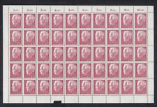 Bund 429 Heinrich Lübke 20 Pfg kompletter Bogen ** FN 1Af