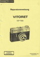 Voigtländer Reparaturanweisung für Vitoret