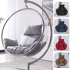 New Cotton Stuffing Hanging Basket Chair Cushions Egg Hammock Thick Back Pillow