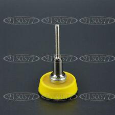 """Abrasives 1"""" Hook&Loop Backer Plate For SandPaper Buffer Pads 3mm Shank"""