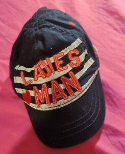 "3 To 6 Months ""Ladies Man"" Hat Cap"
