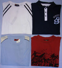 Unbranded Short Sleeve Striped Big & Tall T-Shirts for Men