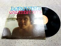 VINYL RECORD ALBUM,DONOVAN'S GREATEST HITS,MELLOW YELLOW,SEASON OF THE WITCH