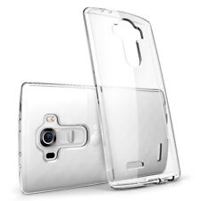 LG G4 Case - Transparent Crystal Clear Soft Thin Flexible TPU Cover