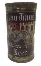 Brau Haus flat top beer can