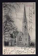 100655 AK Berlin Kaiser Friedrich Gedächtnis Kirche 1902 Vollbild Verl. Goldiner