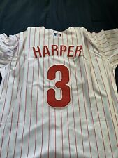 New With Tags Majestic White/ Home Bryce Harper Jersey Phillies Size Extra Large