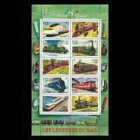 France 2001 - Railway History Trains - Sc 2833 MNH