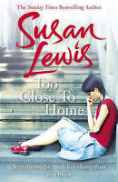 Too Close To Home by Lewis, Susan, Acceptable Used Book (Paperback) FREE & FAST