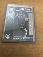 2019-2020 Panini Illusions Pascal Siakam Sapphire Black Parallel SSP