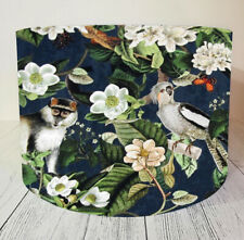 Lampshade Lamp Shade Light Ceiling Drum Floor Navy Jungle Monkey Parrot Forest