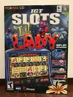 lil' lady --- collection of 20 igt slots casino computer games --- new