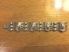 Mexican signed Icuala Ley Sterling Silver Bracelet