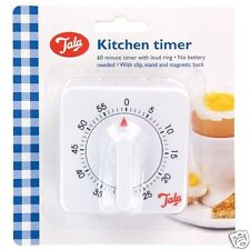 Tala Mechanical Wind Up 60 Minute Kitchen Cooking Timer 1OA07213