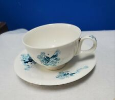 HALL hallcraft china Frost Flowers by Eva Zeisel cup and saucer