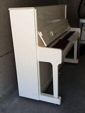 Klavier Steinmayer weiß 3 Pedale