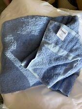 Centex Blended Cam Border Towels.86% Cotton/14% Polyester Blend. Set 2 BRAND NEW