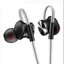 Metal Headphone Super Earphone Bass W Mic Headset For Mobile Phone Mp3 PC 3.5mm