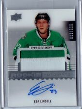 2016-17 Premier Rookie Patch Auto Esa Lindell 003/299 RPA! Dallas Stars RC!