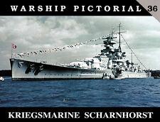 Warship Pictorial 36 - Kriegsmarine Scharnhorst