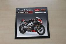 167552) Moto Guzzi - Modellprogramm Preise & Farben - Prospekt 01/2009